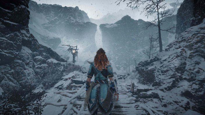 """Horizon Zero Dawn: Angabe zur Spielzeit von """"The Frozen Wilds"""""""