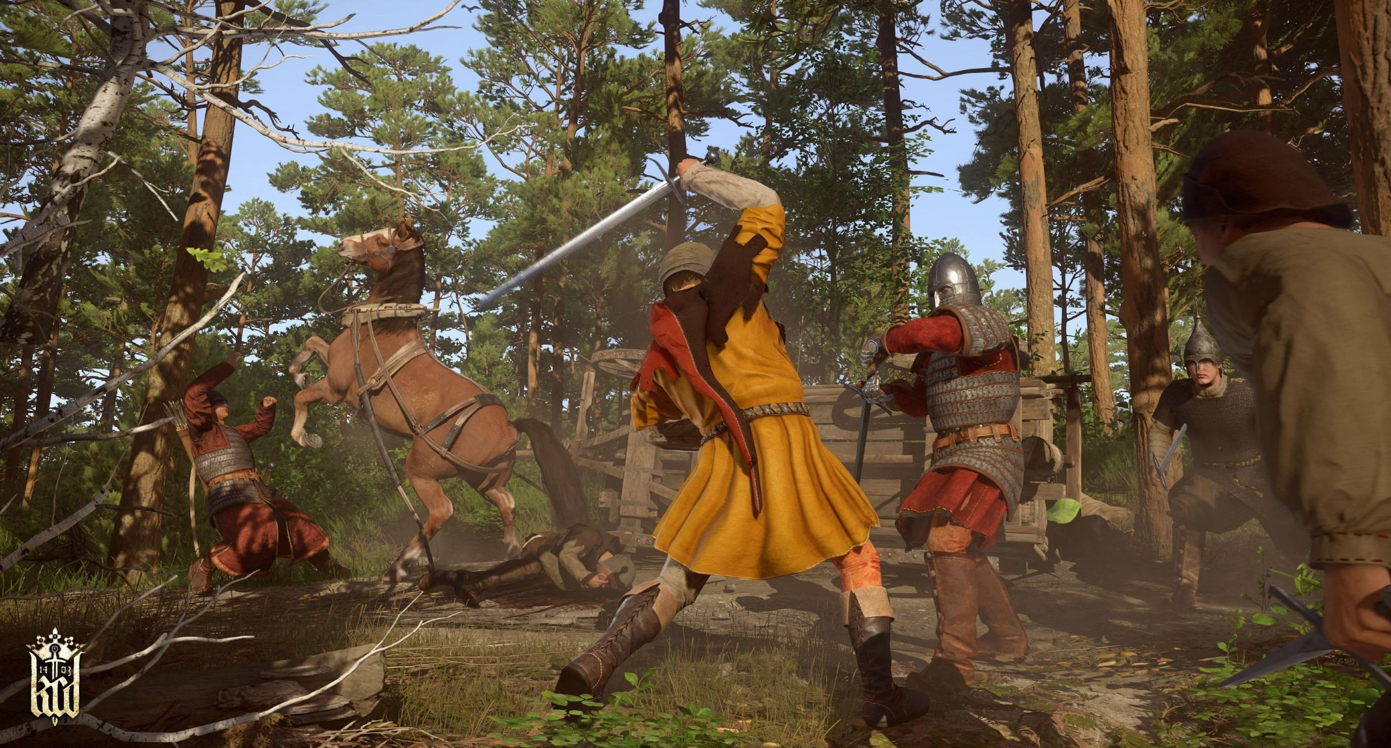 Kingdom Come Deliverance: DLC-Trailer zu The Amorous Adventures of Bold Sir Hans Capon und Free-For-All