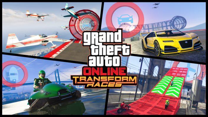 GTA 5 Online: Verwandlungsrennen jetzt verfügbar, Trailer