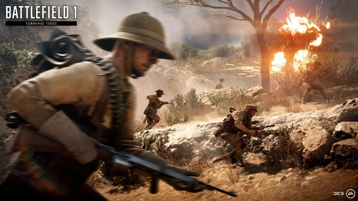 Battlefield 1: Incursions auch auf Konsolen PS4 und Xbox One verfügbar