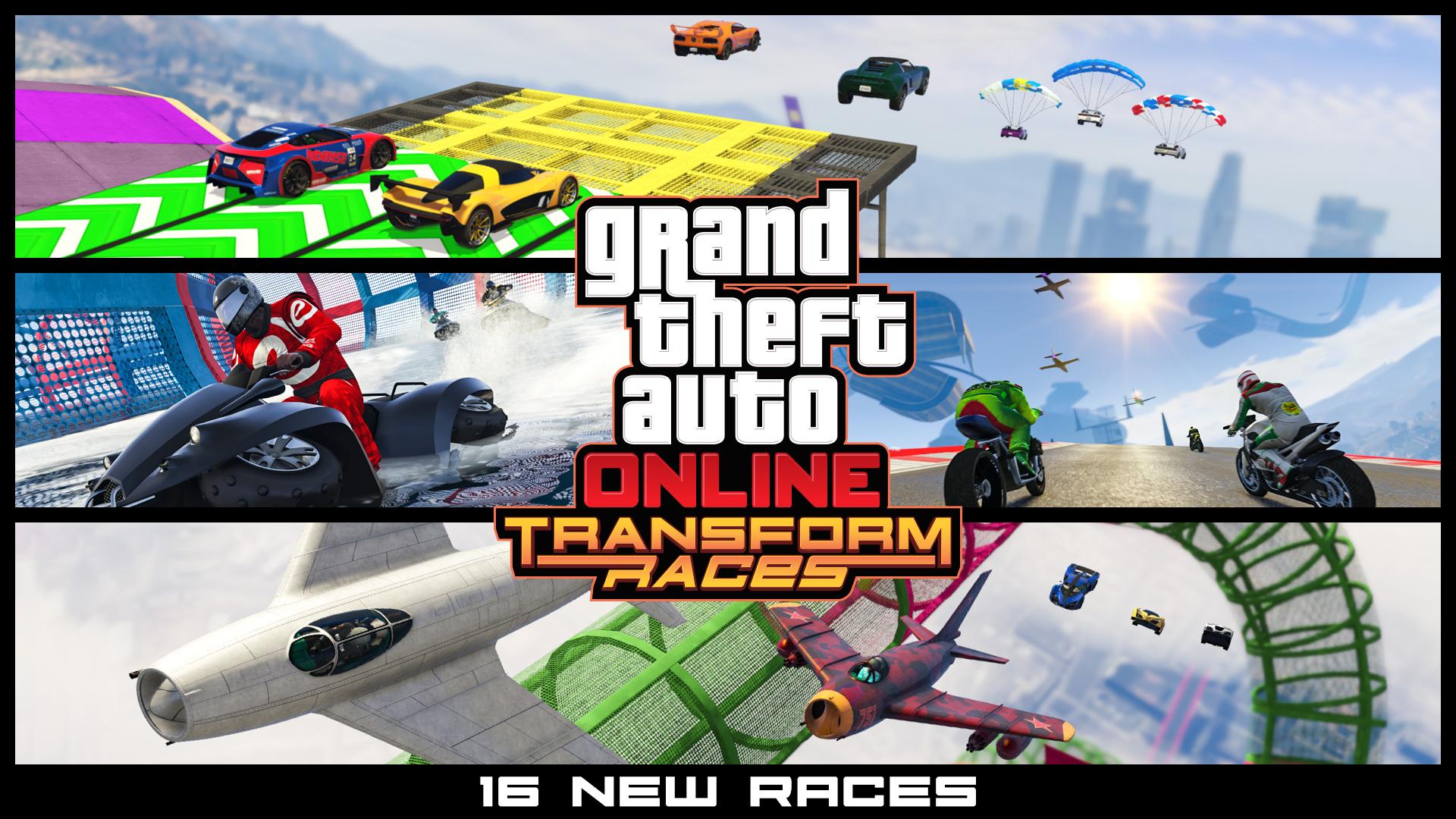 GTA 5 Online Verwandlungsrennen Transform_Races_2