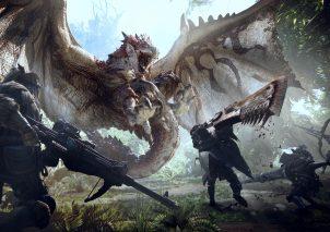 Monster Hunter World - Keyart