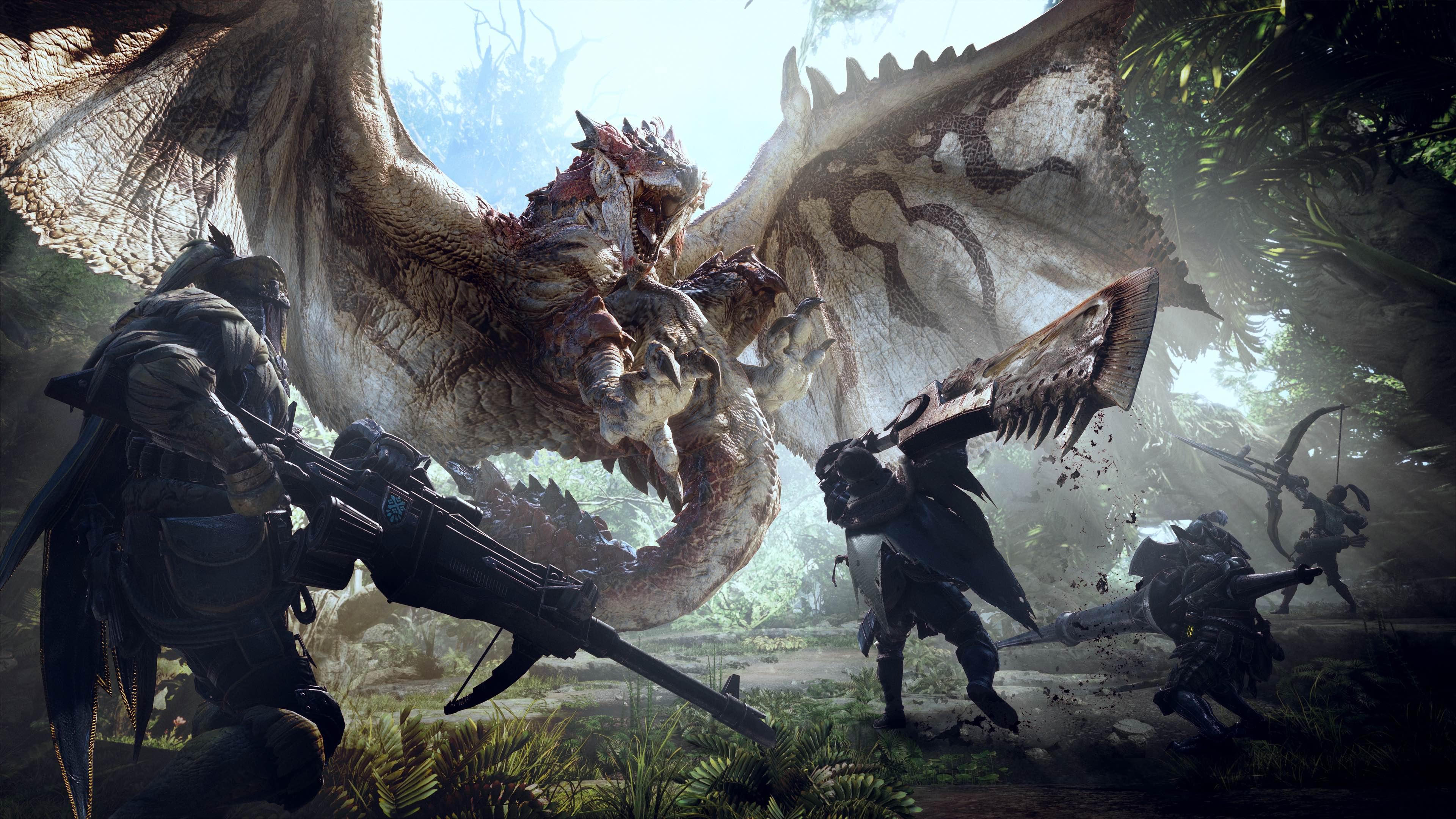 Monster Hunter World angespielt: Größer, einsteigerfreundlicher ...