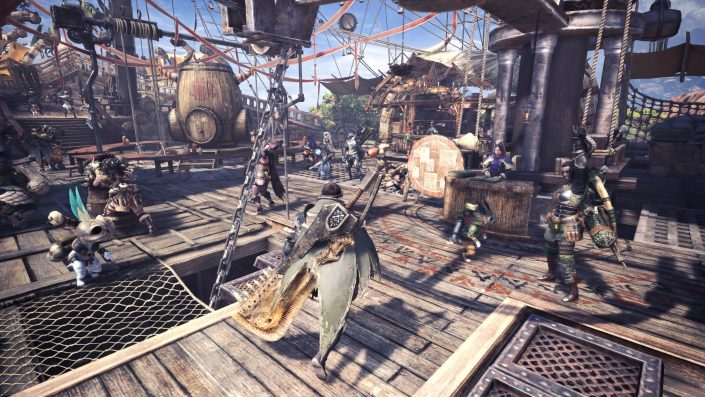 Monster Hunter World - Multiplayer Lobby