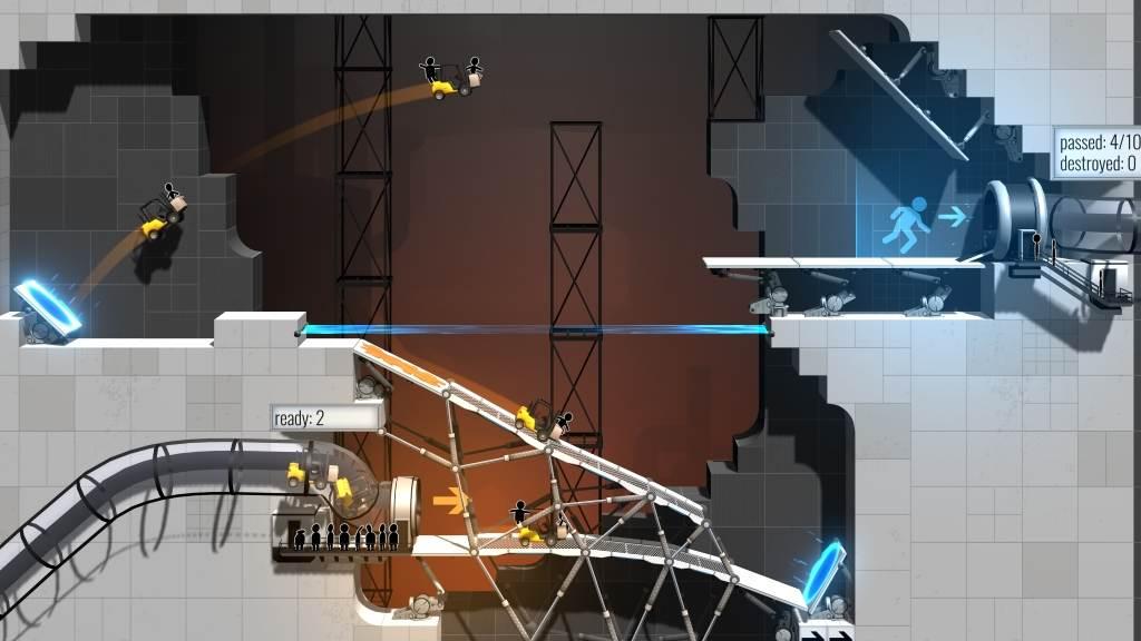 Bridge Constructor Portal: Neues Brückenbau-Spiel auf Basis der