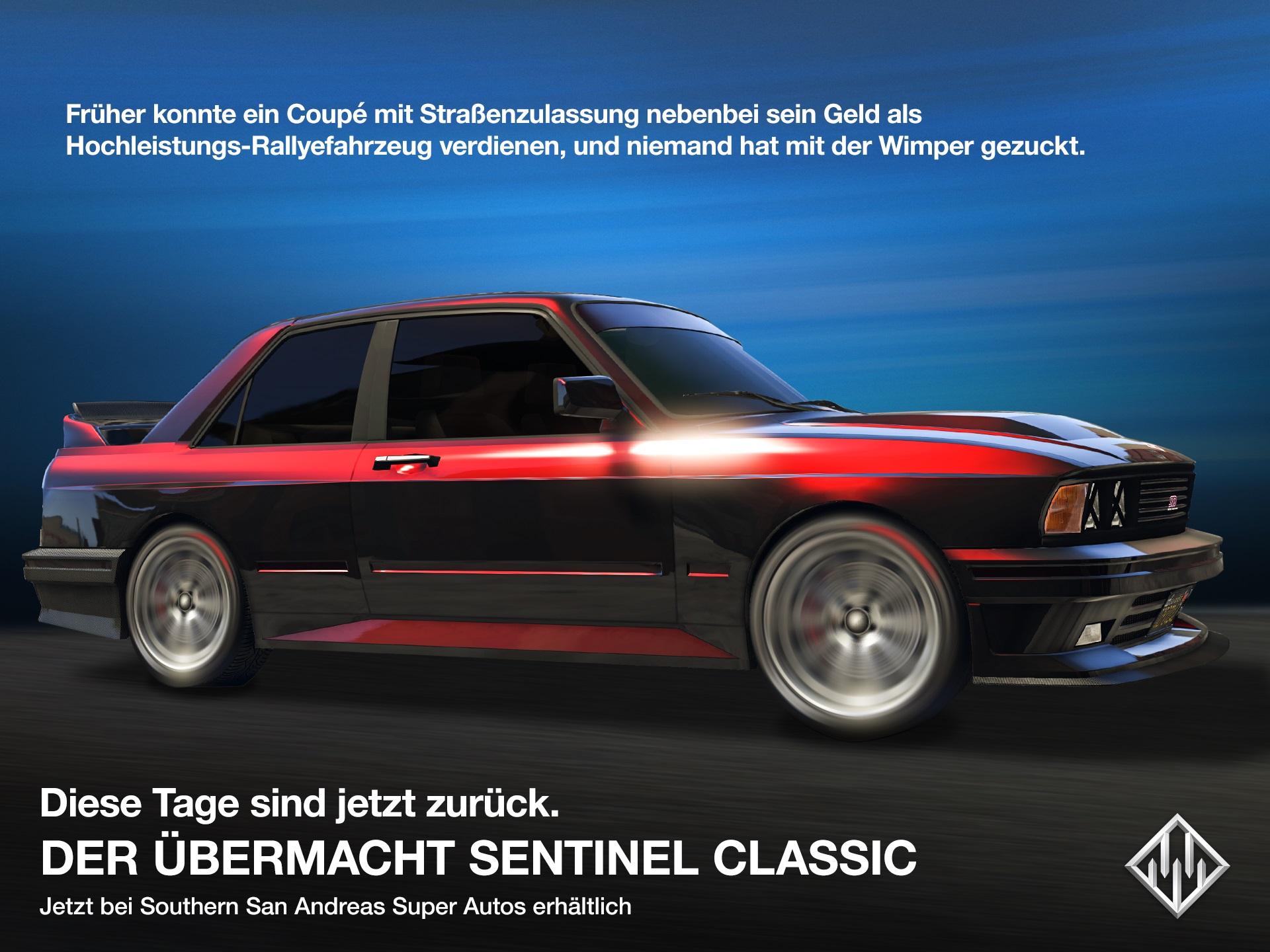 GTA 5 Online Übermacht Sentinel Classic