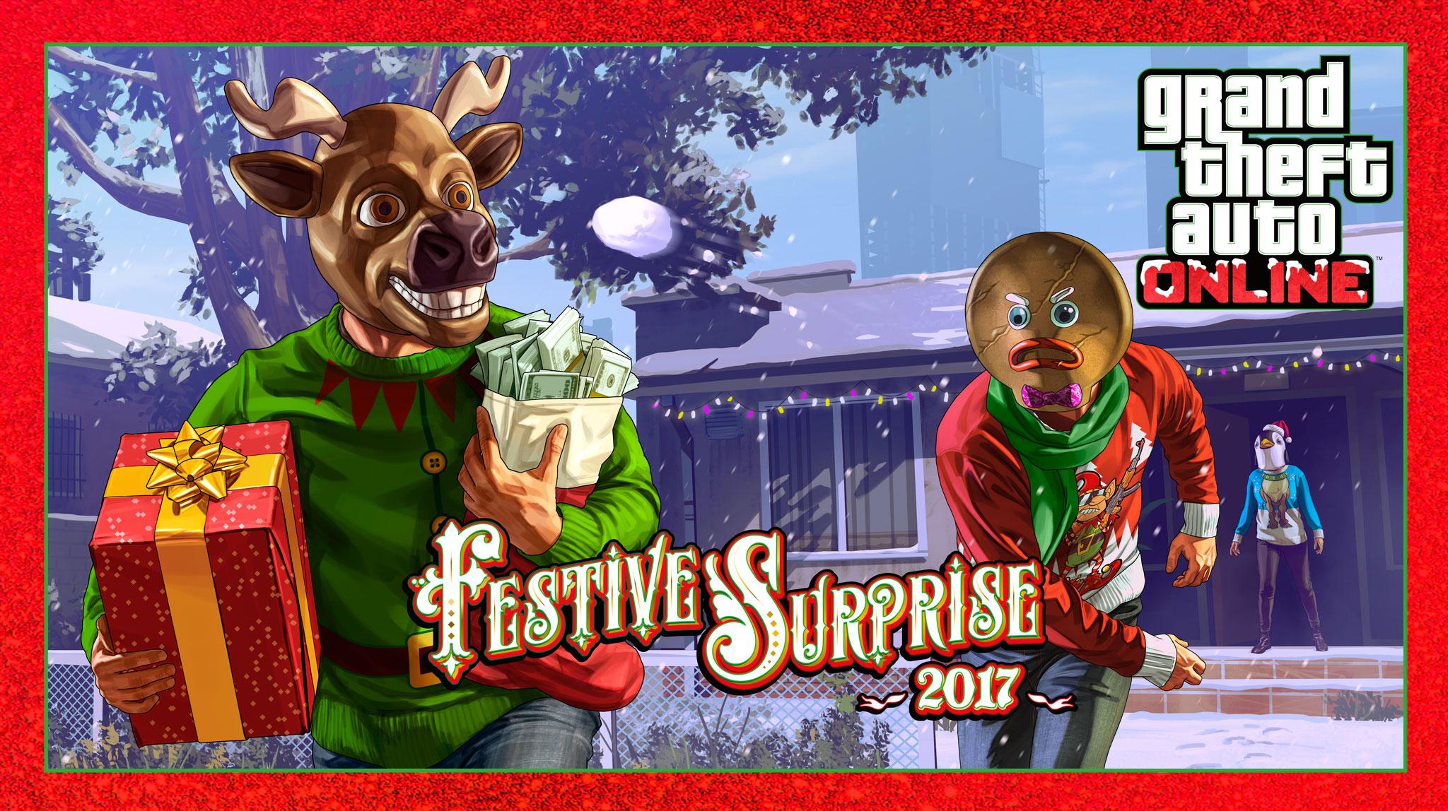 GTA 5 Online Festive Surprise 2017