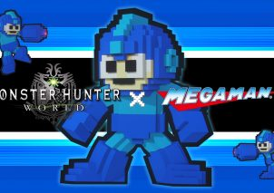 Monster Hunter World X Mega Man Crossover