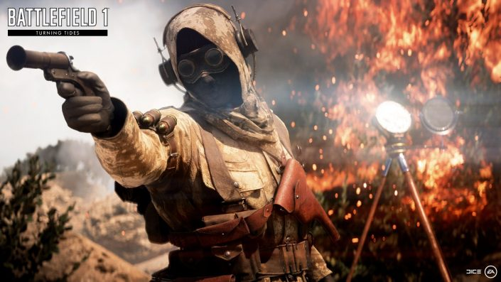 Battlefield 1: Support wird aufrecht erhalten, neue Waffen und Ergänzungen geplant