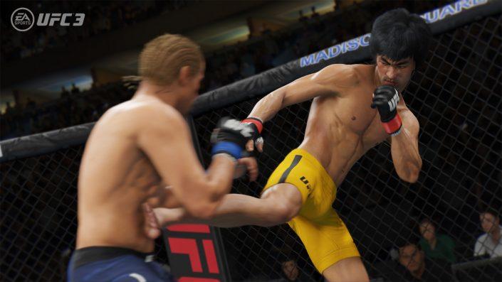 EA Sports UFC 4: Hinweis im PlayStation Network und Beta-Registrierung