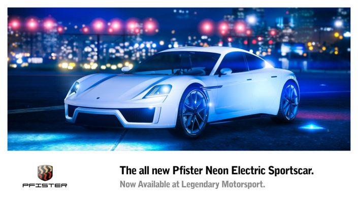 GTA 5 Online: Neuer E-Sportwagen Pfister Neon, neuer Spielmodus Hardest Target und mehr