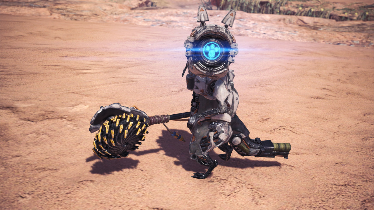 Monster Hunter World Horizon Zero Dawn Crossover (1)
