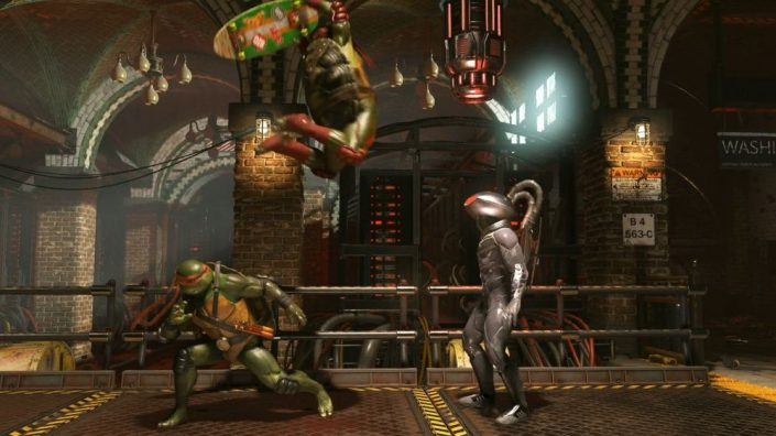 Injustice 2: Teenage Mutant Ninja Turtles ab heute für alle Spieler im Superhelden-Prügler – Trailer