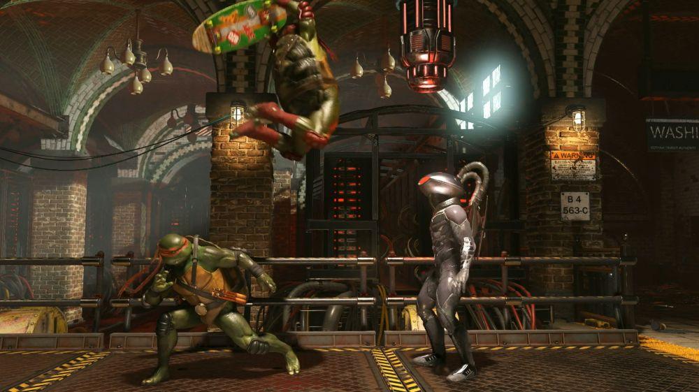 Schildkröten-Trailer zu Injustice 2