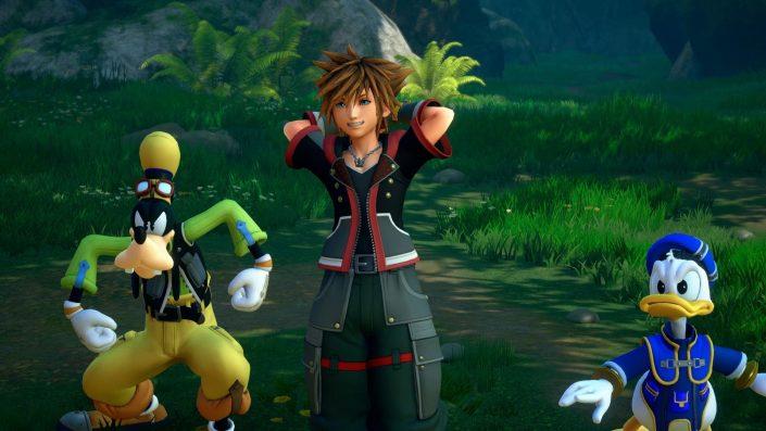 Kingdom Hearts 3: LCD-Minispiele im Trailer präsentiert