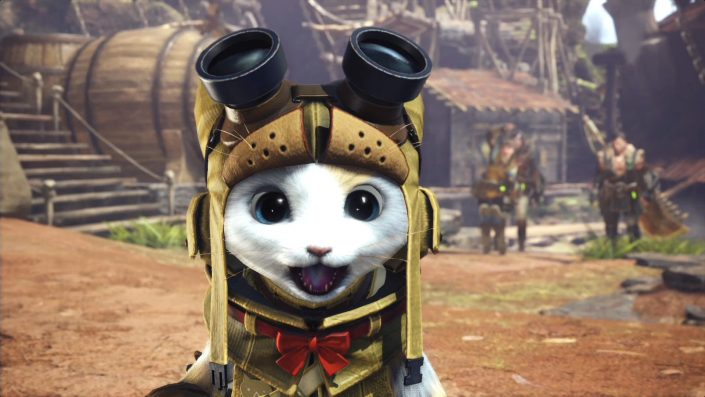 Monster Hunter World - Special - Palicos - 01