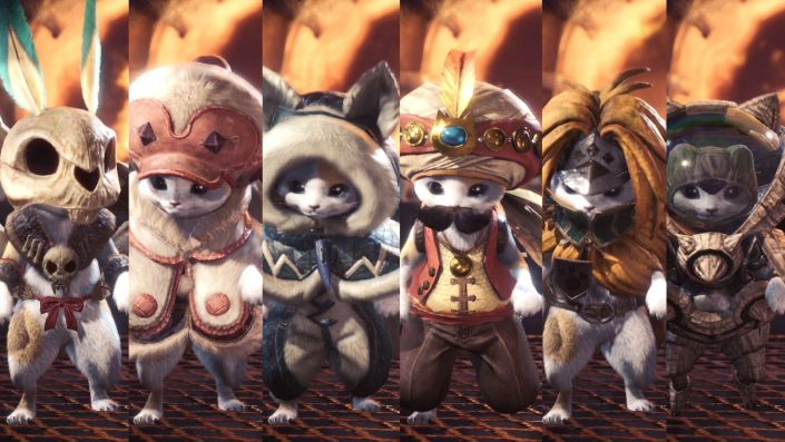 Monster Hunter World - Special - Palicos - 04