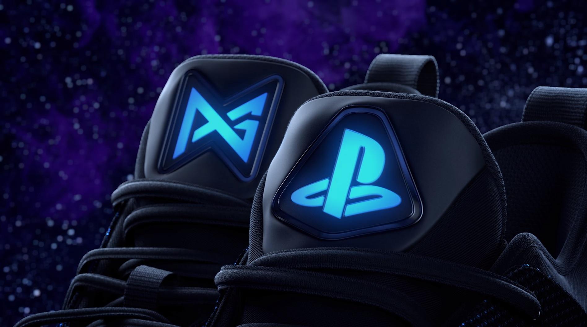 6845cba540b903 Unboxing-Video zum offiziellen PlayStation-Sneaker  Nike PG2 PlayStation  Colorway - play3.de