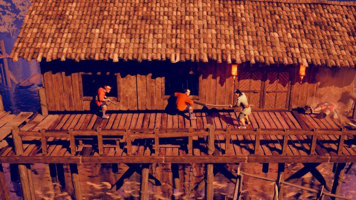 9 Monkeys of Shaolin: Der Trailer zum heutigen Release des Prügelspiels