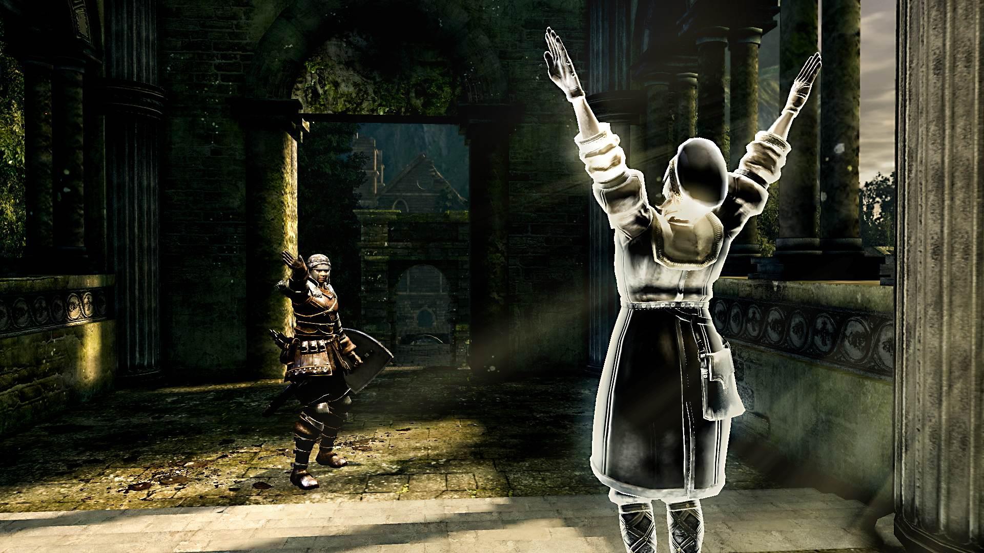 Dark Souls Remastered: PS4 Pro und PC im Grafikvergleichsvideo