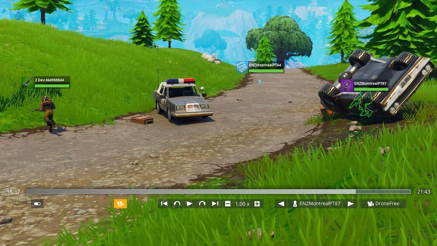 how to play replays fortnite