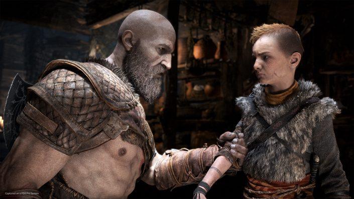 God of War: Behind-the-Scenes-Video zu den bekanntesten Geräuschen des PS4-Hits