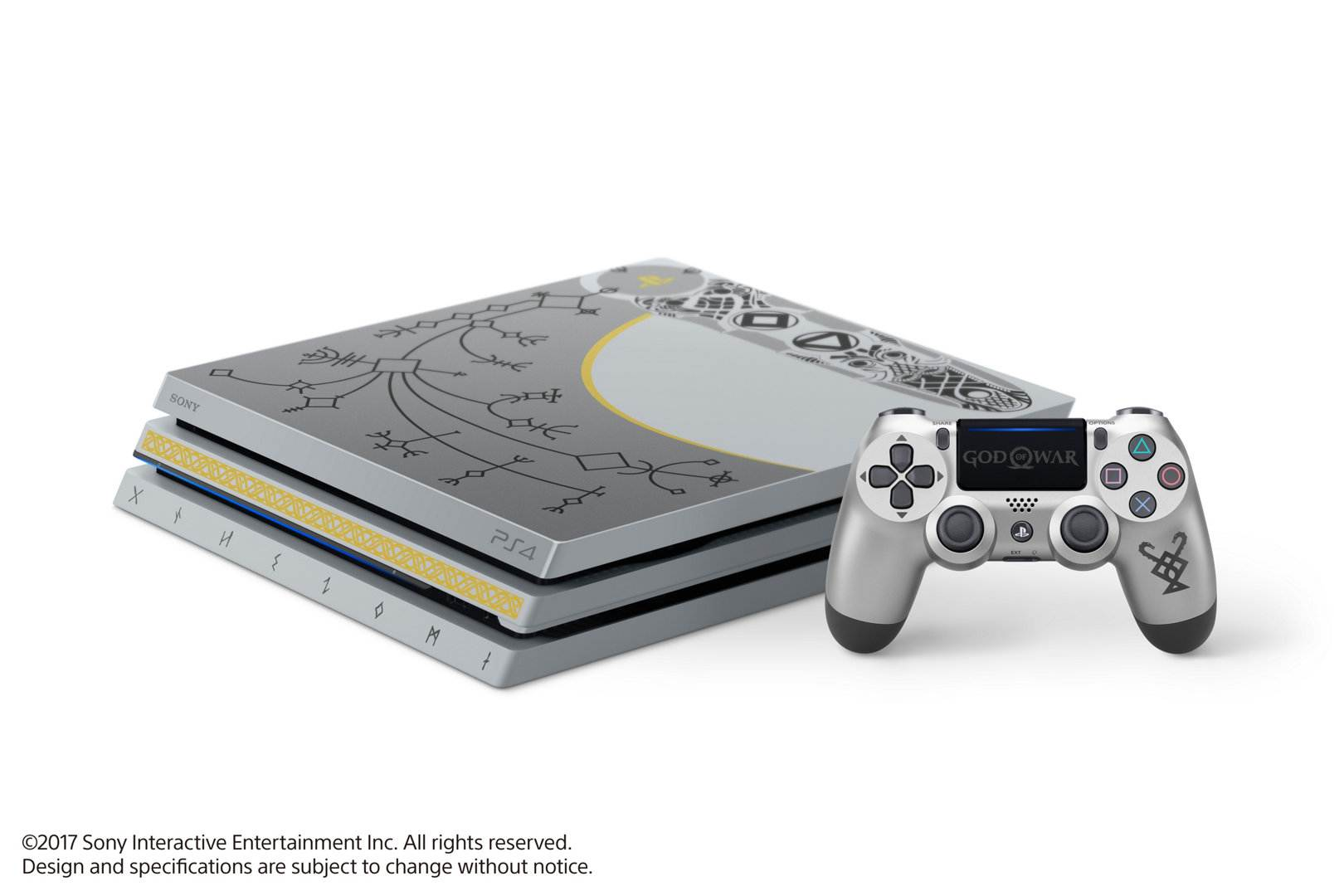 god of war limitierte playstation 4 pro zum kommenden. Black Bedroom Furniture Sets. Home Design Ideas