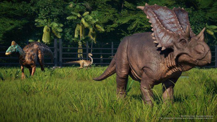 Jurassic World Evolution 2: Der Triceratops im neuen Video vorgestellt