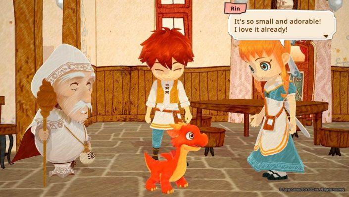 Little Dragons Café: Termin und neues Video zum kommenden Spiel des Harvest Moon-Schöpfers