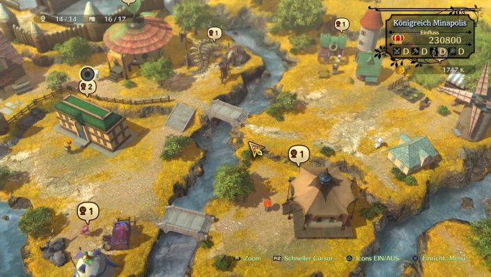 Ni No Kuni 2 - Schicksal eines Königreichs - Review - Test - Play3 - 03