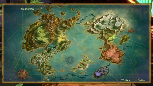 Ni No Kuni 2 - worldmap