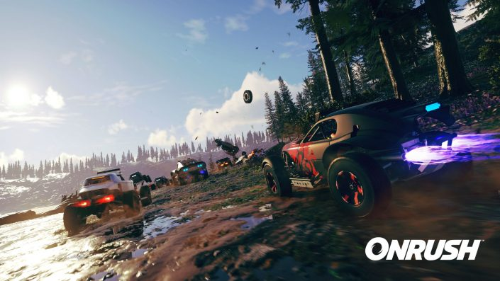 OnRush: Launch-Trailer und Accolades-Trailer zum neuen Arcade-Racer der DriveClub-Macher