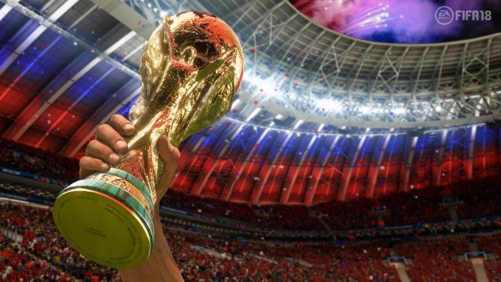 Neuer WM-Modus bringt FIFA 18 in den UK-Charts den Spitzenplatz ein