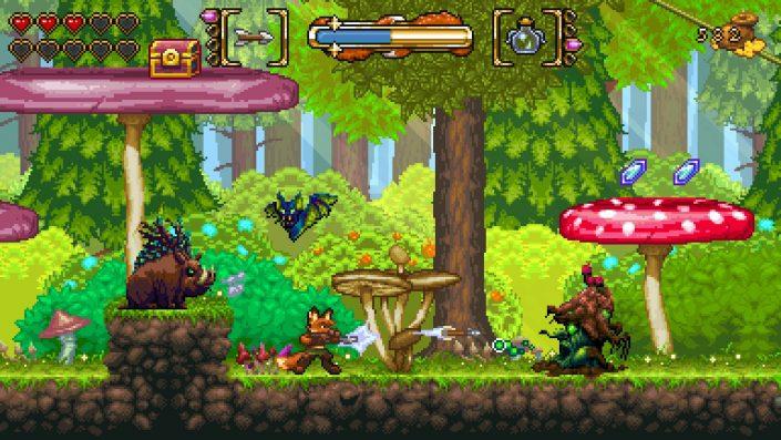 Fox n Forests: Launch-Trailer zur Veröffentlichung für PS4, Switch und PC