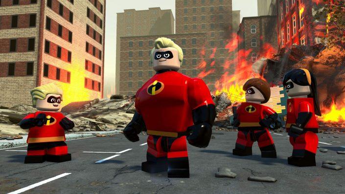 Lego Die Unglaublichen: Launch-Trailer zur heutigen Veröffentlichung