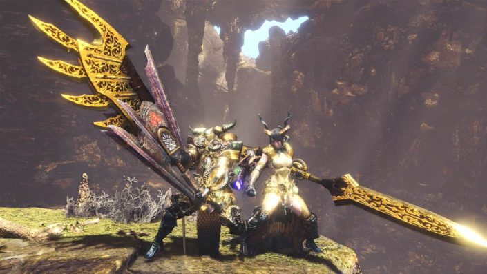 Monster Hunter World: Crossover mit Final Fantasy 14 beginnt im August mit Behemoth – Termin