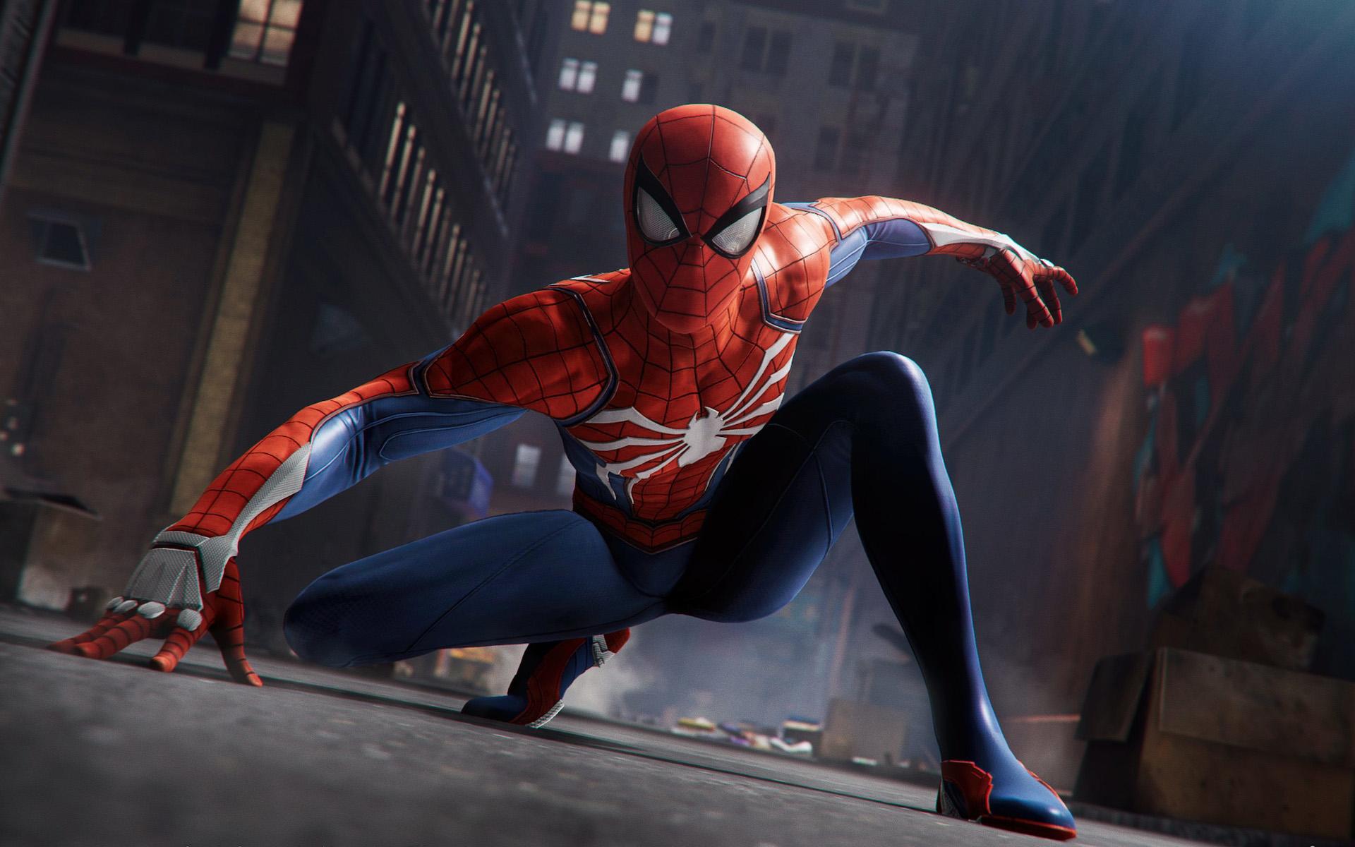 Spider-Man_PS4_Crouch