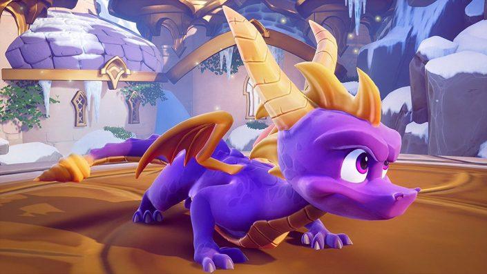 Spyro Reignited Trilogy: Verschiebung um alle drei Spiele auf die Disk zu bringen?