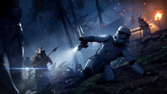 """Star Wars Battlefront 2: Die Ewoks kommen mit dem """"Nacht auf Endor""""-Update – Mikrotransaktionen kommen zurück"""
