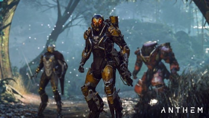 Anthem: Cinematic-Trailer, Gameplay, Termin und weitere Details zum neuen BioWare-Shared-World-Titel