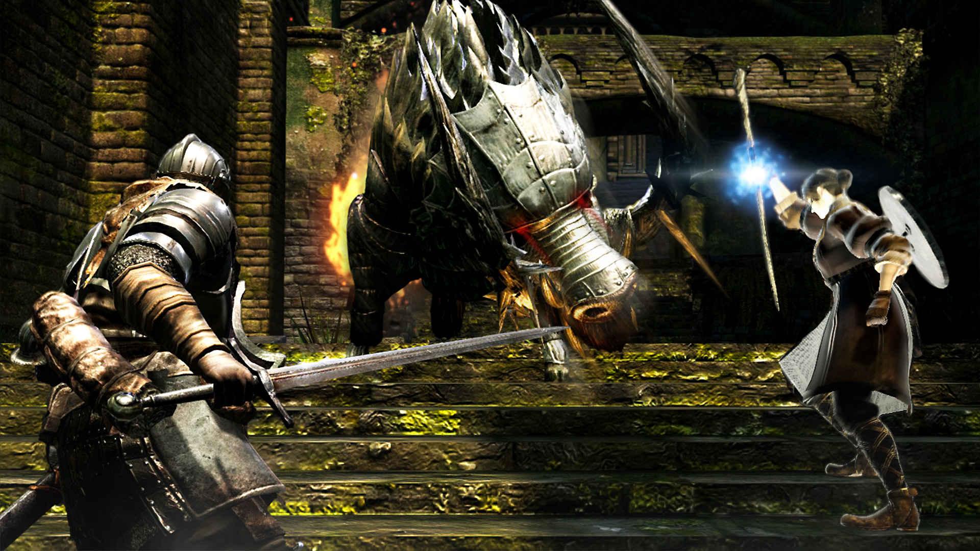 Netzwerk-Test für Dark Souls Remastered auf Xbox One & PS4