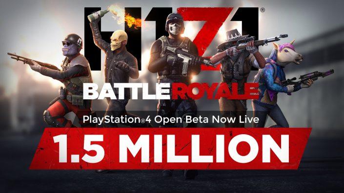 H1Z1: Seit PS4-Start des Battle-Royale-Shooters mehr als 4,5 Millionen Spieler (Update)