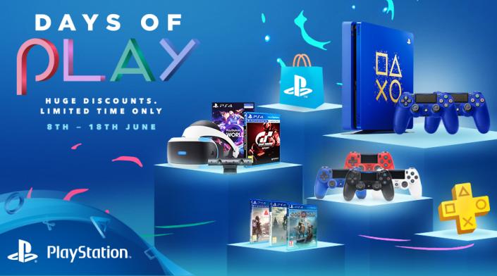 Days of Play-Sale startet heute: Rabatte auf Konsolen, PSVR, Zubehör und Spiele