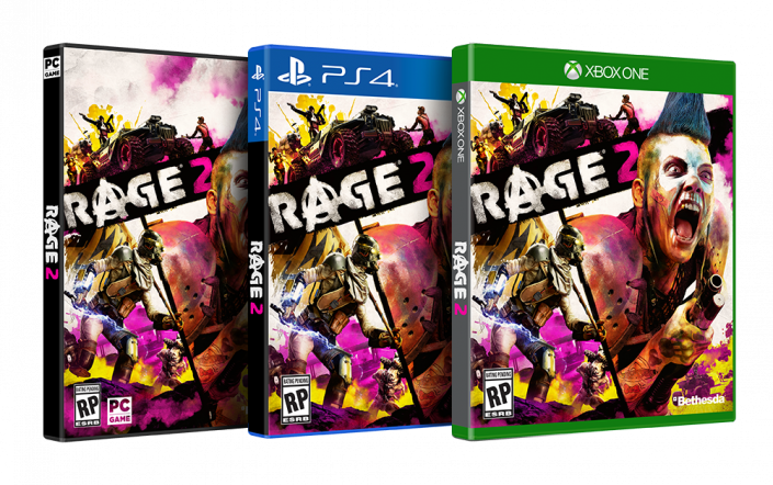 Rage 2 - Boxart