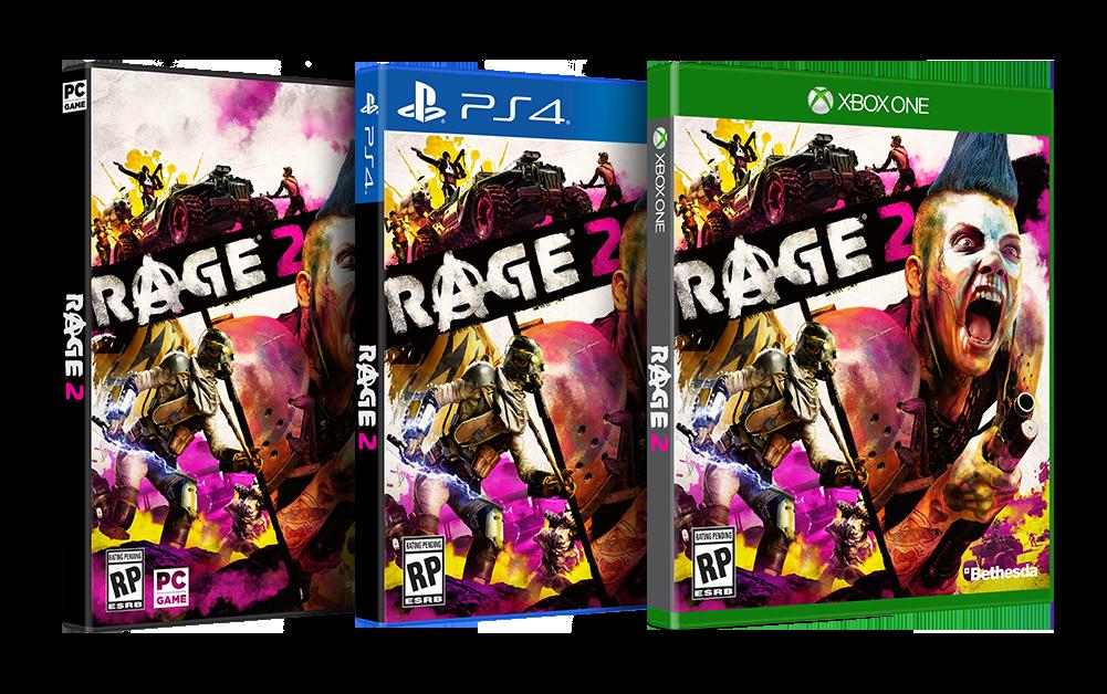 Rage 2 – Boxart