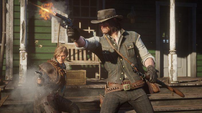 Red Dead Redemption 2: Gameplay wurde auf PS4 Pro aufgezeichnet, Xbox One X-Support bestätigt