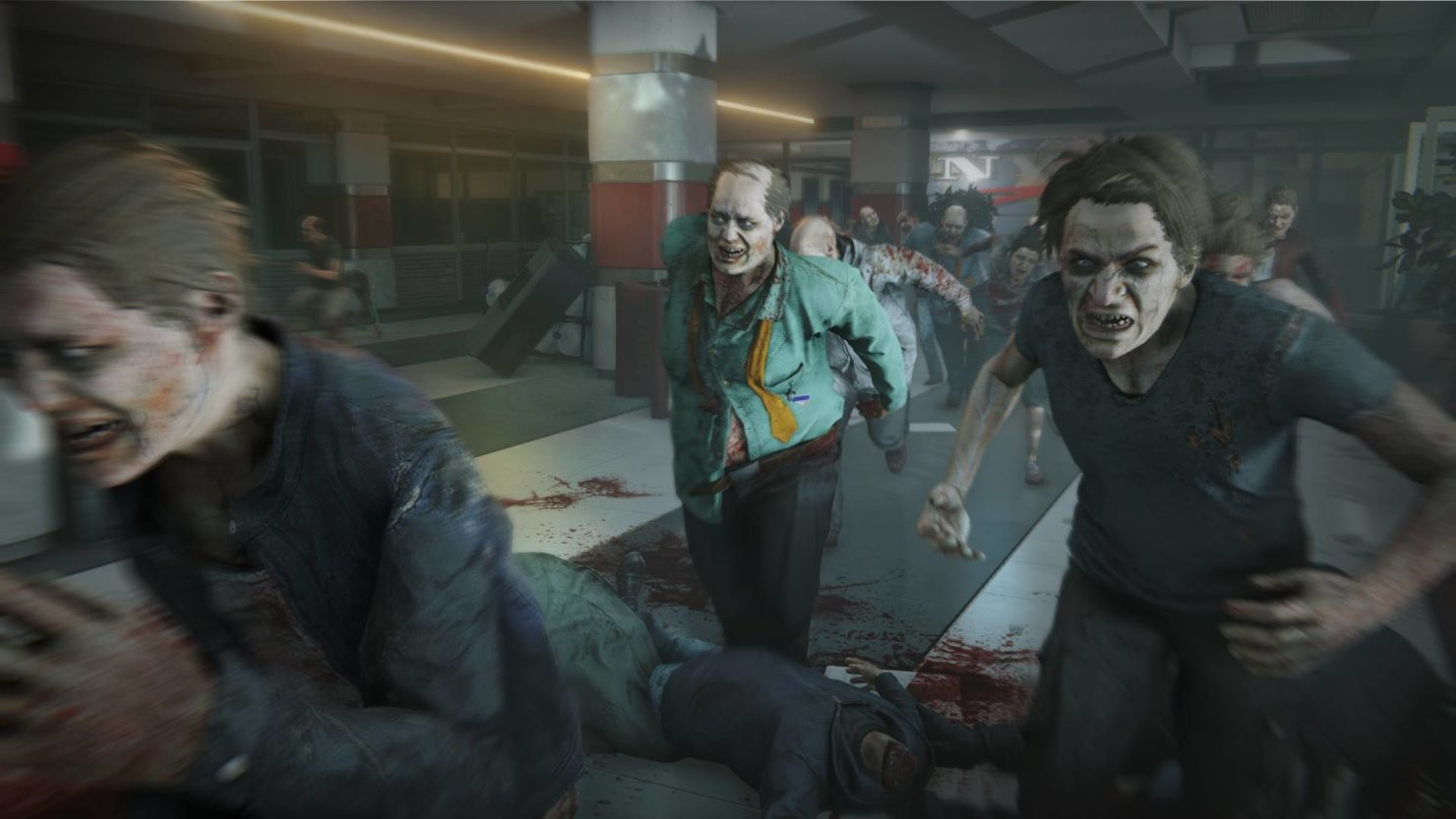 World War Z: Conjures hundreds of enemies simultaneously