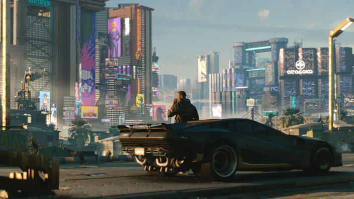 Cyberpunk 2077: Ihr könnt Autos und Motorräder in einer Garage sammeln