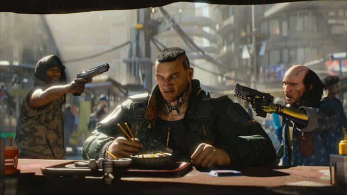 Cyberpunk 2077: Katana-Gameplay, Stealth und Infos zu den Perks