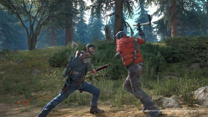 Days Gone: Gameplay-Präsentation mit reichlich Zombies